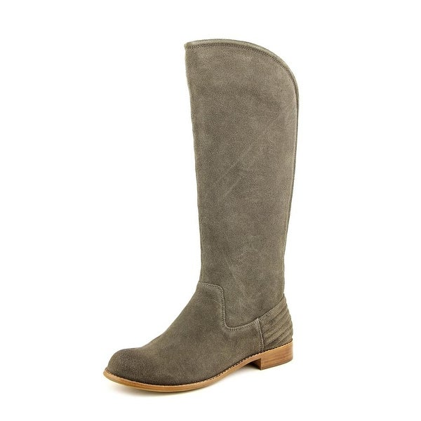 Splendid Oakville Round Toe Suede Knee High Boot