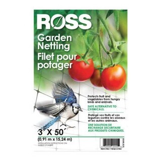 Ross 16440 Garden Netting, 3' x 50'