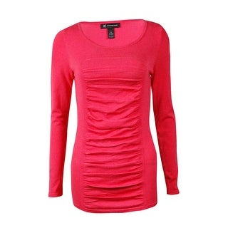 INC International Concepts Women's Ruched Sweater - xL
