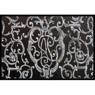 Carolines Treasures 8927JMAT Ironwork Fence Indoor & Outdoor Mat 24 x 36 in.
