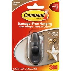 3M Command Sml Bronze Hook