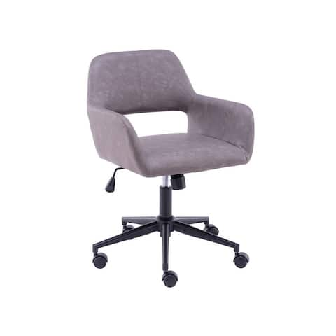 Home Office Chair with PU Upholstered and Height Adjustable