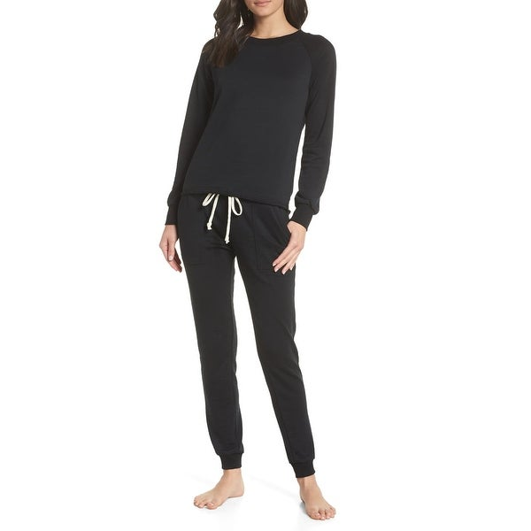 Alternative Black Women Size Large L Lazy Day Sweatshirt Sweatpants