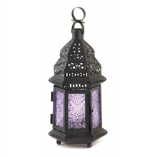 Purple Moroccan Style Lantern