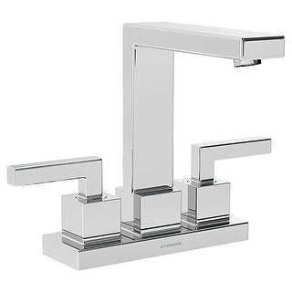 Symmons SLC-3612-1.5 Duro Centerset Bathroom Faucet - Includes Metal Drain Assembly