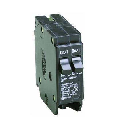 Eaton BD1515 Single Pole Tandem Duplex Circuit Breaker, 15 Amp