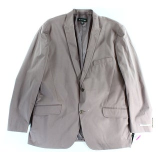 INC NEW Purple Vienna Mens Size 2XL Two Button Notched Collar Blazer