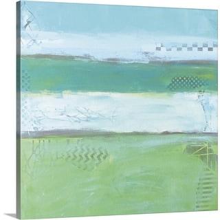 """Sea Glass IV"" Canvas Wall Art"