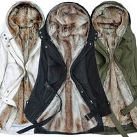 Fur Collar Hooded Long Women's Cotton Coat