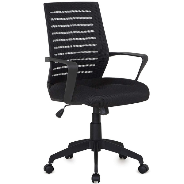 Office Chair Mesh Surface Cushion Adjustable Swivel Mesh Desk Chairs