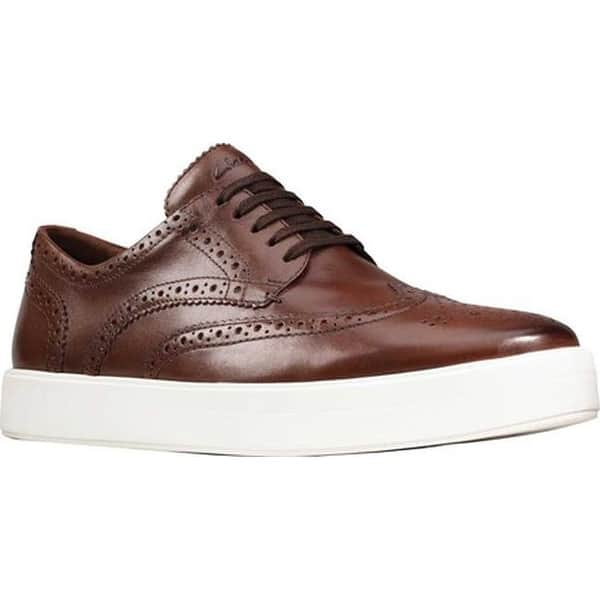 recomendar Perú compresión  Shop Clarks Men's Hero Limit Wingtip Sneaker British Tan Leather -  Overstock - 30861317