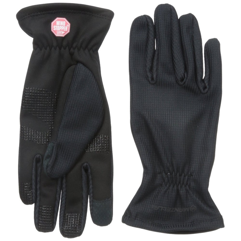 Women/'s Manzella All Elements 1.0 Touch Screen Gloves Black Medium