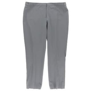Calvin Klein Womens Petites Highline Ankle Pants Taper Leg Flat Front - 14P