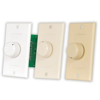Acoustic Audio AAVCD3C Home 3 Color Dial Speaker Volume Control Wall Mount