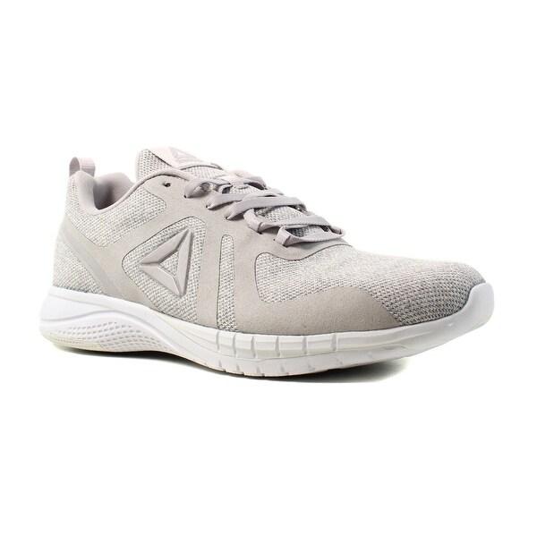 3a0bd1054c17d Shop Reebok Womens Rbk Print Run 2.0 Cr White Running Shoes Size 8.5 ...