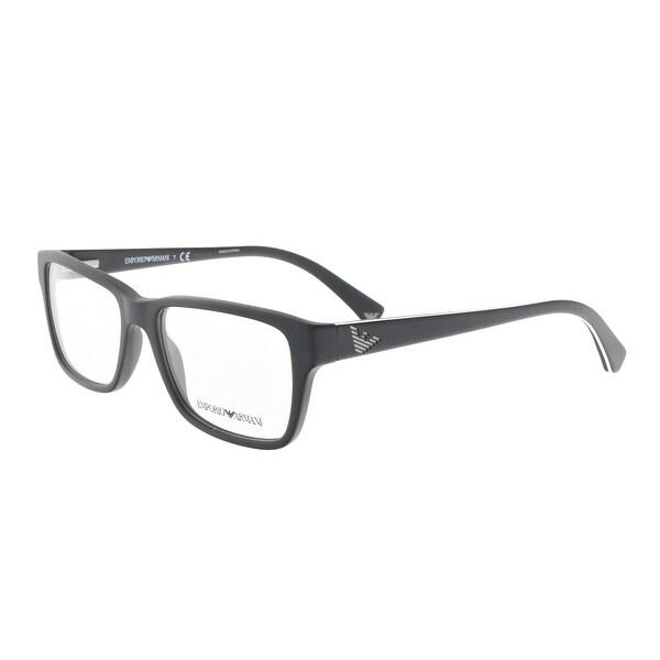 d30cd451723 Clothing   Shoes     Accessories     Eyeglasses     Optical Frames. Emporio  Armani EA3057 5364 54 Matte Black Square Optical Frames - 54-17-140