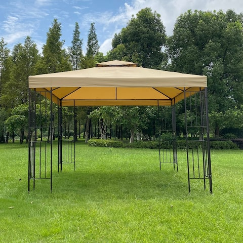 10x10Ft Outdoor Patio Gazebo Canopy Tent