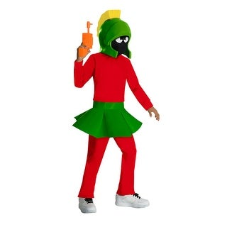 Kids Marvin The Martian Looney Toons Costume - small (size 4-6)