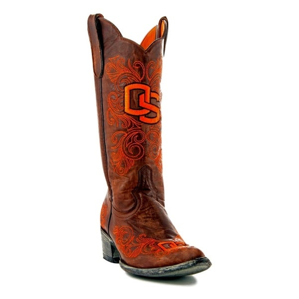Gameday Boots Womens College Oregon State Beavers Brass