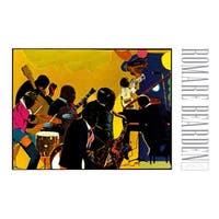 ''Out Chorus'' by Romare Bearden African American Art Print (24 x 36 in.)