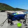 Sunnydaze Folding Utility Wagon Garden Cart, 150 Pound Weight Capacity - Multiple Colors - Thumbnail 26