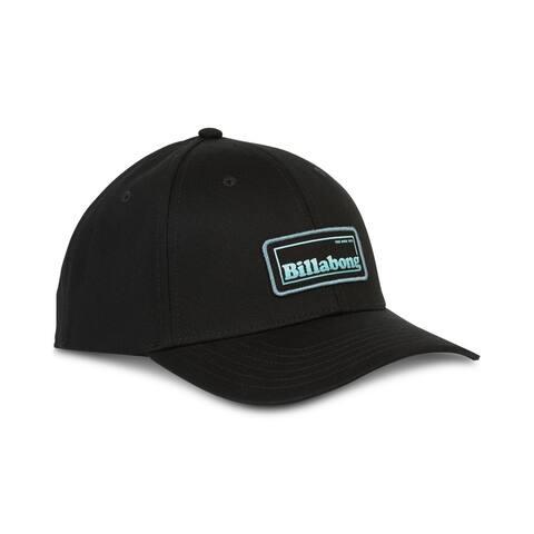 Billabong Mens Walled Baseball Cap, Black, One Size - One Size
