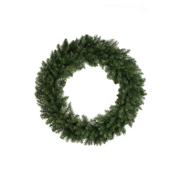 "36"" Northern Pine Artificial Christmas Wreath - Unlit"