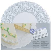 "Show 'N Serve Cake Boards-10"" Round White 10/Pkg"