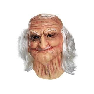 Disguise Male Oldie Adult Vinyl Mask - beige