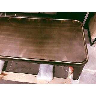Carbon Loft Tabouret Vintage Metal Dining Bench with Back - Free ...