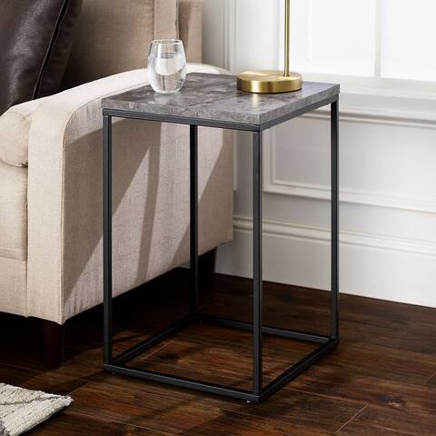 Carbon Loft Geller Square Modern Side Table