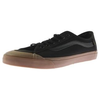 Vans Mens Black Ball Skateboarding Shoes Canvas Lace Up - 13 medium (d)