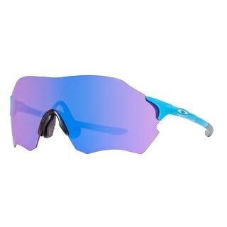 Oakley EVZero Range OO9337-03 Matte Sky Blue Prizm Trail Asia Fit Sunglasses - matte sky blue - 130mm-0mm-125mm