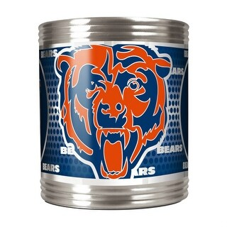 Great American Products Chicago Bears Can Holder Stainless Steel Can Holder