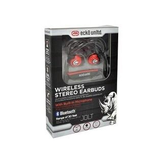 Ecko EKU-JLT-BK Jolt Earbuds Bluetooth Sport with Mic, Black