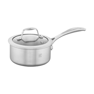 ZWILLING Spirit 3-ply Stainless Steel Saucepan - STAINLESS STEEL