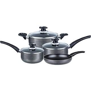 """""""Brentwood 7-Piece Aluminum Non-Stick Cookware Set Non-Stick Cookware Set"""""""