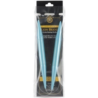 Lion Brand 1905 29 in. Circular Knitting Needles - Size 19 by 15 mm
