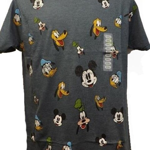 New Mickey Mouse Donald Duck Goofy Pluto Disney Mens S-2XL Shirt $20