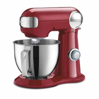 Cuisinart Precision Master 3.5-Quart Stand Mixer (Ruby Red)