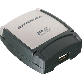 Iogear Usb 2.0 1-Port Multi-Language Version Print Server, Gpsu21w6