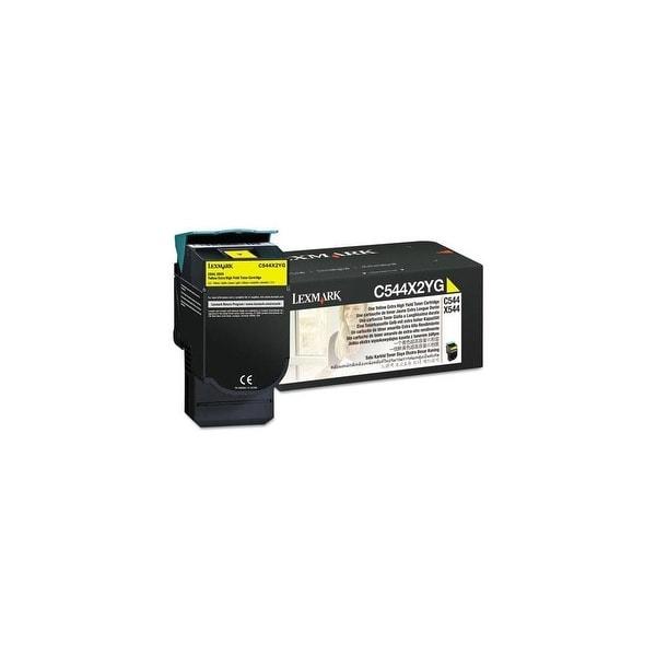 Lexmark Extra High Yield Toner Cartridge - Yellow C544X2YG Extra High Yield Toner Cartridge - Yellow