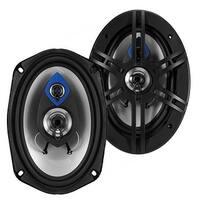 Planet Audio PL69 Pulse 400 Watt (Per Pair), 6 x 9 Inch, Full Range, 3 Way Car Speakers (Sold in Pairs)