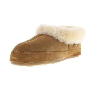 Acorn Womens Oh Ewe Sheepskin Casual Slip-On Slippers - 6