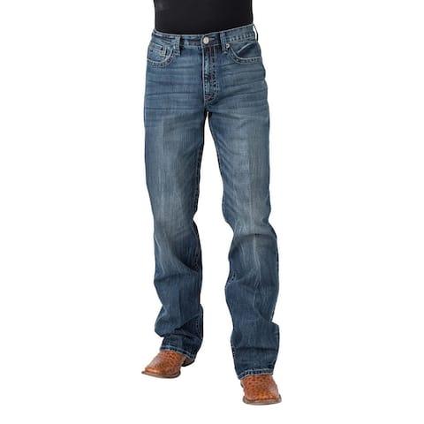 Tin Haul Western Jeans Mens Reg Fit Med Wash - Medium Wash