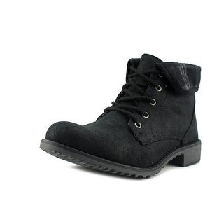White Mountain Neponset Round Toe Canvas Combat Boot