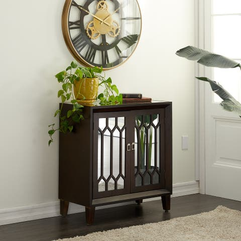 Brown Wood Traditional Cabinet 34 x 32 x 16 - 32 x 16 x 34