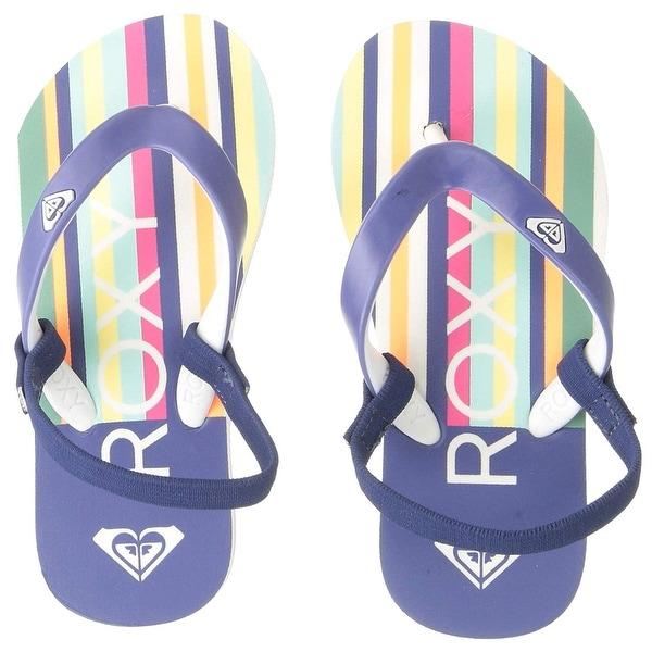 08bce9cde Shop Roxy Kids  Girl s Tw Tahiti Toddler Sandal Flip-Flop - Free ...