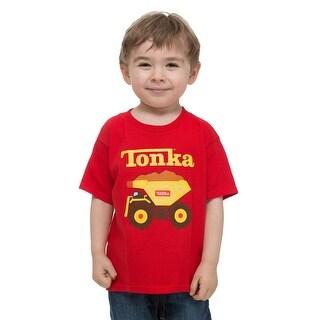 Toddler Tonka Truck Red T-Shirt - 4T