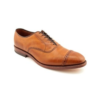 Allen Edmonds Fifth Avenue Men E Cap Toe Leather Brown Oxford